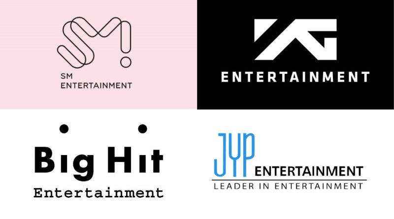 SM JYP YG BIG HIT